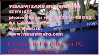US fixes H-1 B rules for PC Software Engineer