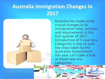 Australia Immigration changes in visa Rules